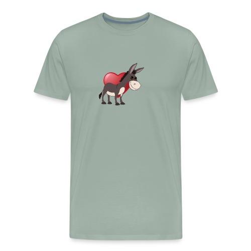 love donkeys - Men's Premium T-Shirt