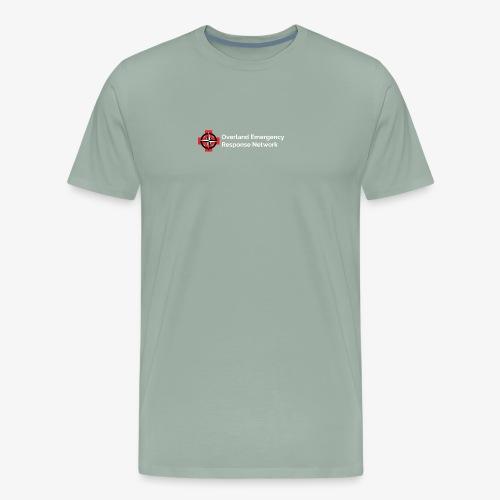 OERNet Logo with Words - Men's Premium T-Shirt