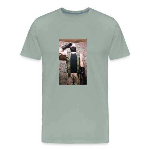 Wolf Paradox , reporting for duty - Men's Premium T-Shirt