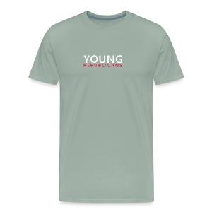 Full Text Horizontal Young Republicans - Men's Premium T-Shirt