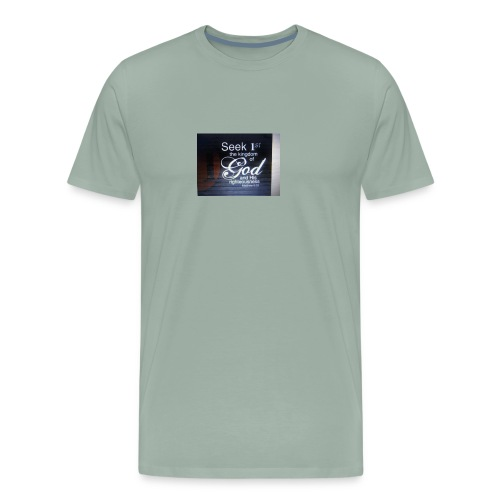 Start Your Day With Prayer - Men's Premium T-Shirt