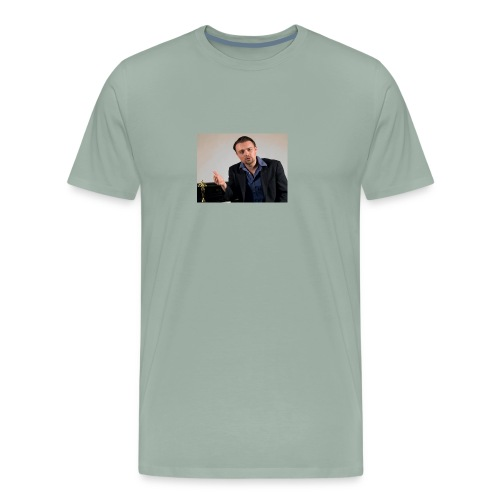 Justin Stoney as Leonardo - Men's Premium T-Shirt