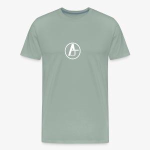 AJ Circle LOGO - Men's Premium T-Shirt