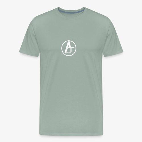 AJ Circle LOGO - Men's Premium T-Shirt