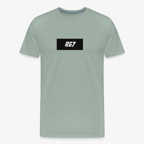 RG7 logo by rayray gaming7 - Men's Premium T-Shirt