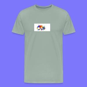 Psycho Cat - Men's Premium T-Shirt