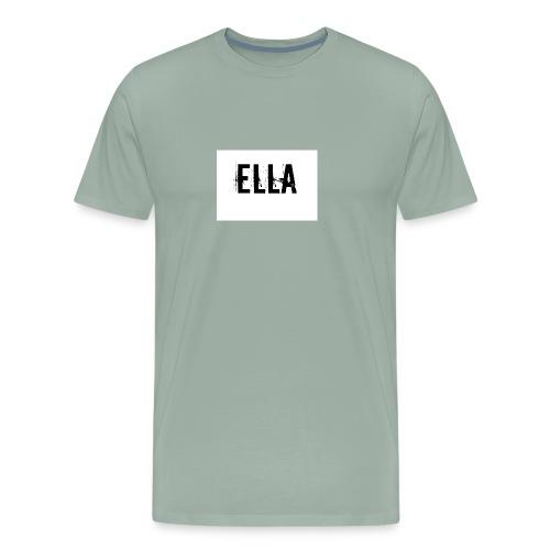 tattoo design female name ella 4 - Men's Premium T-Shirt