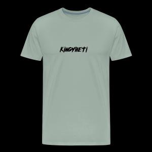 KingYheti Logo - Men's Premium T-Shirt