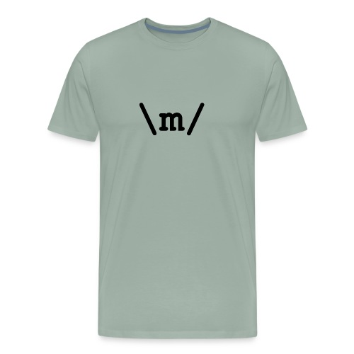 Metal Emote - Men's Premium T-Shirt