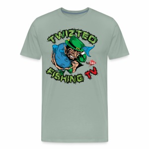 Official Twizted Fishing TV Logo!! - Men's Premium T-Shirt