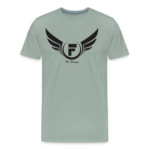 Flo's Limited Edition brand name and logo - Men's Premium T-Shirt
