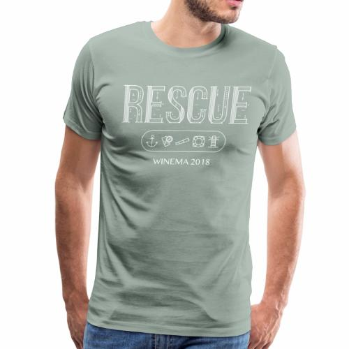 Winema 2nd High School Camp (RESCUE) - Men's Premium T-Shirt