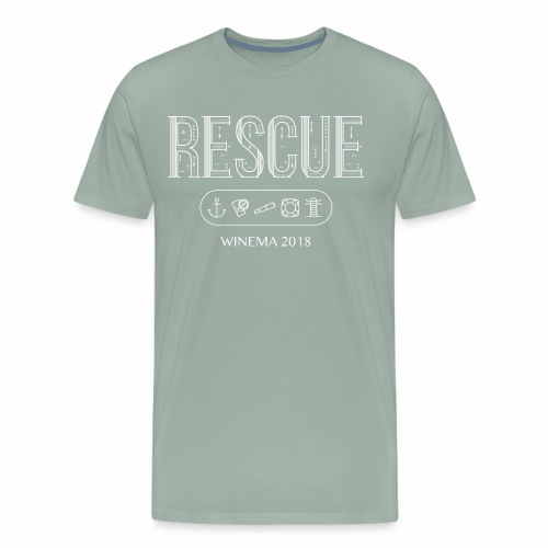 Winema 2nd High School Camp (RESCUE) - Men's Premium T-Shirt