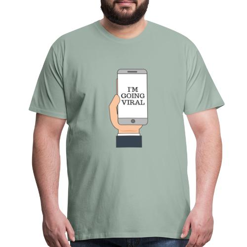 Going Viral - Men's Premium T-Shirt