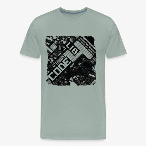 the whole world is code - Men's Premium T-Shirt