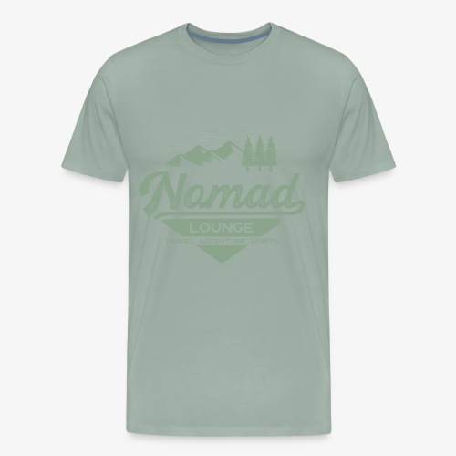 Nomad Range (Green) - Men's Premium T-Shirt