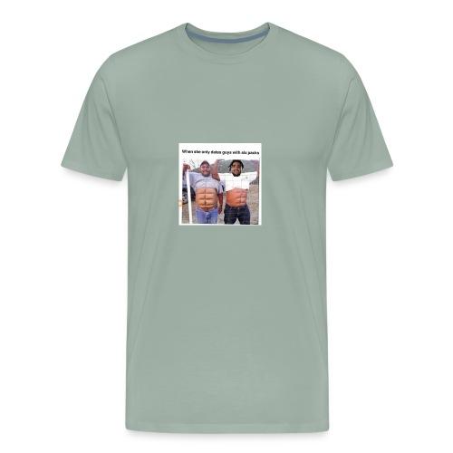 True man Meme Shirt - Men's Premium T-Shirt