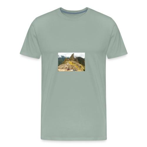 Machu Picchu, Peru - Men's Premium T-Shirt