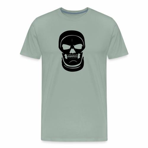 Skull Trooper Face - Fort nite Battle Royale - Men's Premium T-Shirt