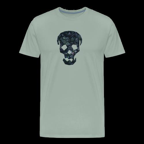 Leafy Skull - Men's Premium T-Shirt
