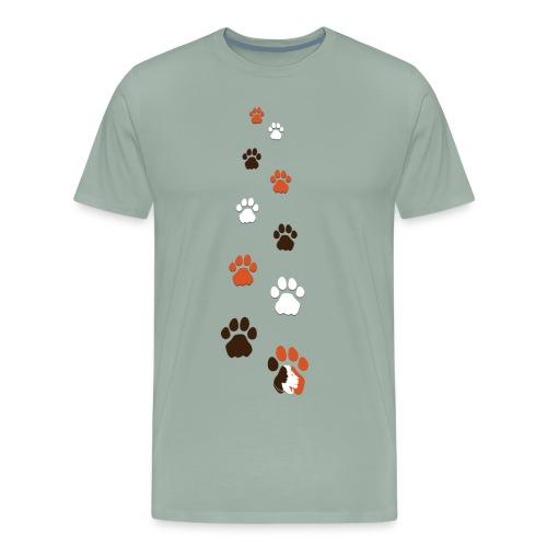 Lion Guardian Paws - Men's Premium T-Shirt
