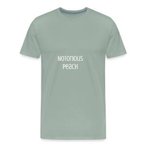 Line one Peach - Men's Premium T-Shirt
