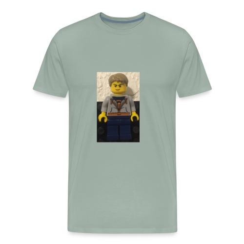LiL brick minifgure - Men's Premium T-Shirt