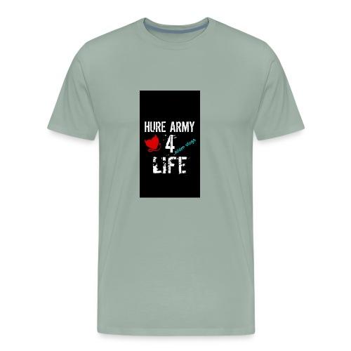 HURE ARMY 4 LIFE - Men's Premium T-Shirt