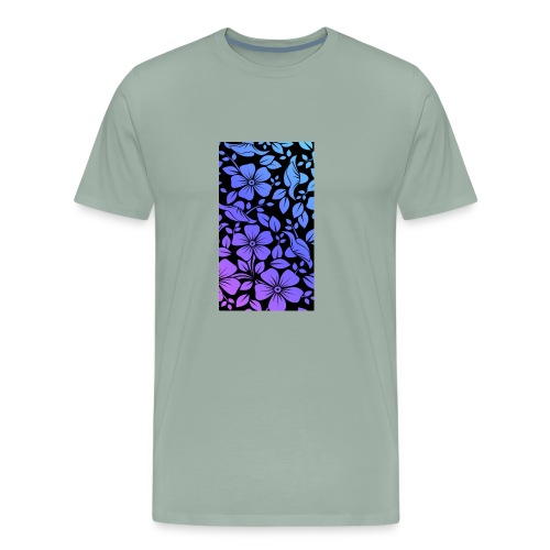 Flowers march - Men's Premium T-Shirt