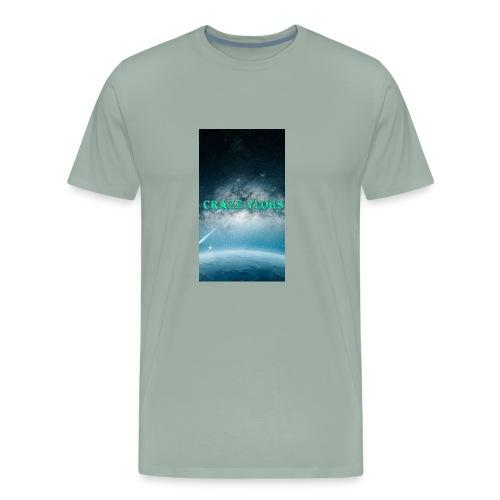 CRAZE VLOGS COVRS For iPhone 8 - Men's Premium T-Shirt