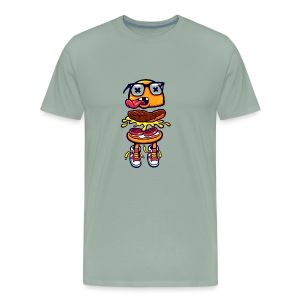 Burger Bits - Men's Premium T-Shirt