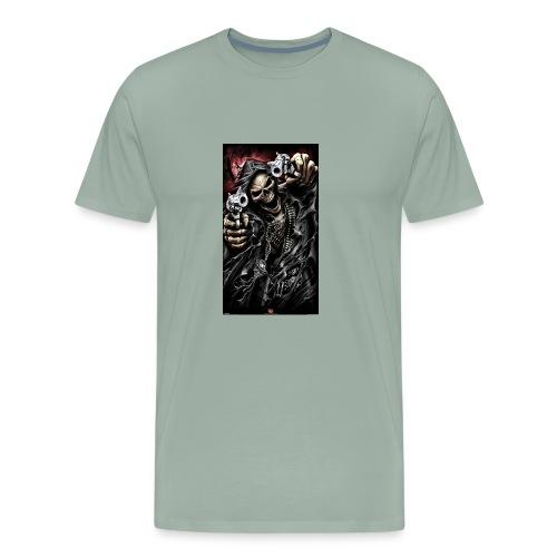 skull 55aa8948 93e5 35d3 8387 fd394990cb01of - Men's Premium T-Shirt