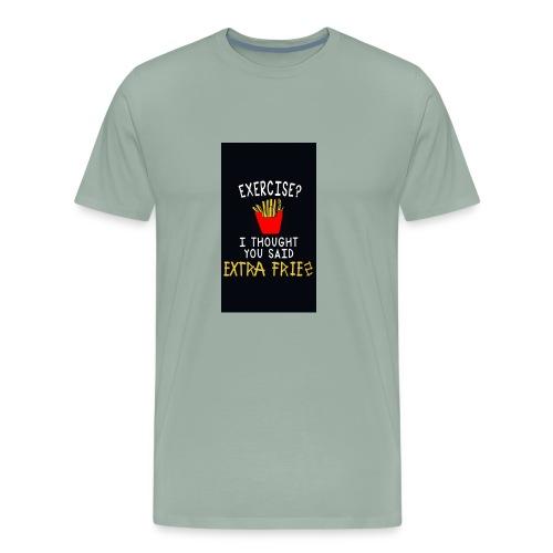 Exercise???? - Men's Premium T-Shirt