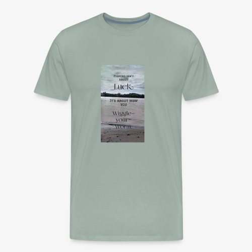 fishing - Men's Premium T-Shirt