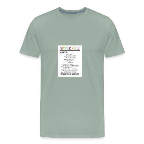 summer rules - Men's Premium T-Shirt