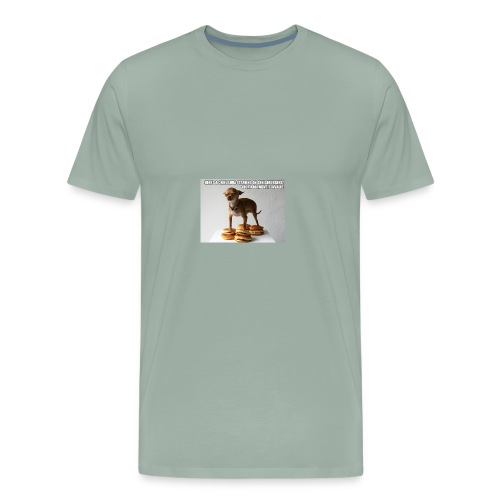 the best funny pictures of awkwardly standing dogs - Men's Premium T-Shirt