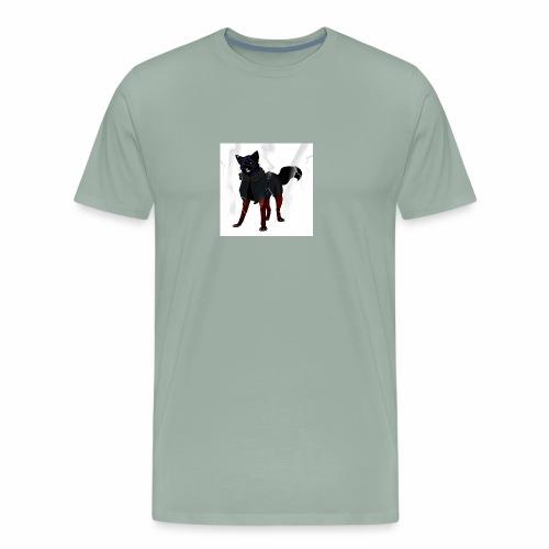 broken glass error dog - Men's Premium T-Shirt