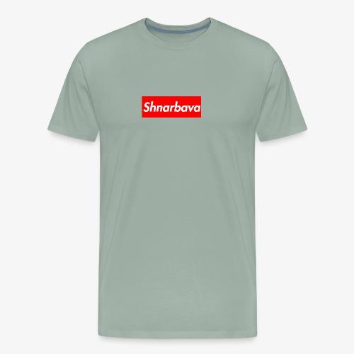 Shnarbava Box Logo - Men's Premium T-Shirt