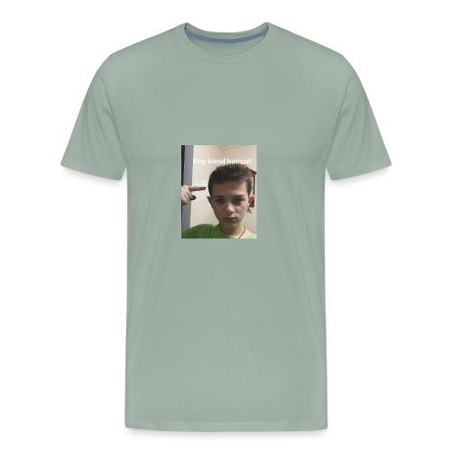 joe giurleo boy band haircut - Men's Premium T-Shirt