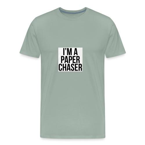 paper chaser - Men's Premium T-Shirt
