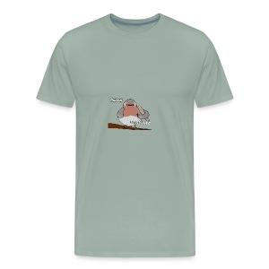 French Robin - Men's Premium T-Shirt