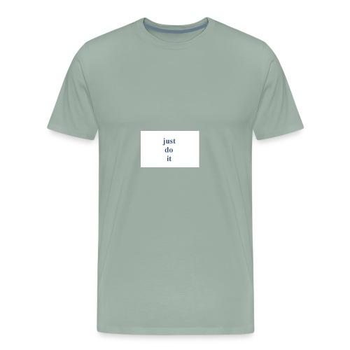 justdoit - Men's Premium T-Shirt