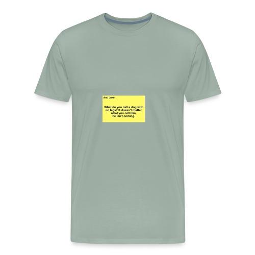 Funny joke - Men's Premium T-Shirt