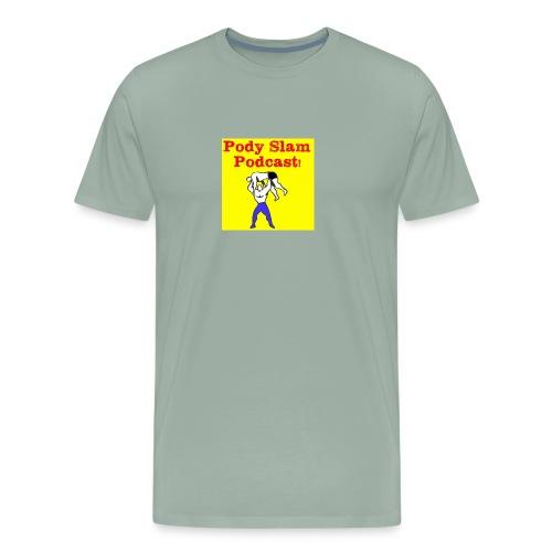 Classic Pody Slam Logo - Men's Premium T-Shirt