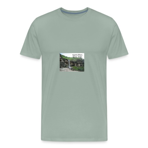 most famous landmarks - Men's Premium T-Shirt