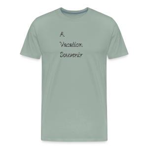 Vaction souvenir - Men's Premium T-Shirt