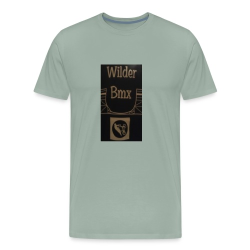 Wilder Bmx logo apparel - Men's Premium T-Shirt