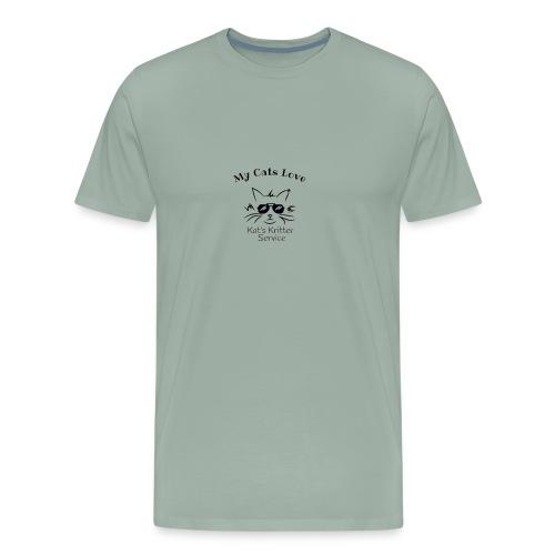 Cats Black - Men's Premium T-Shirt