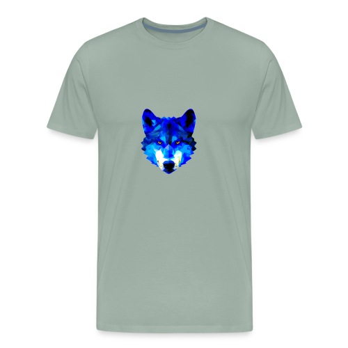Blue Wolf - Men's Premium T-Shirt