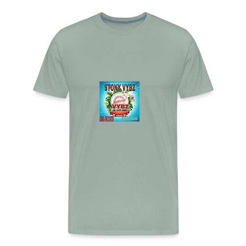 Summer vybz merch - Men's Premium T-Shirt